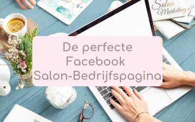 De perfecte Facebook salon-bedrijfspagina.