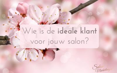 Wie is de ideale klant voor jouw salon?